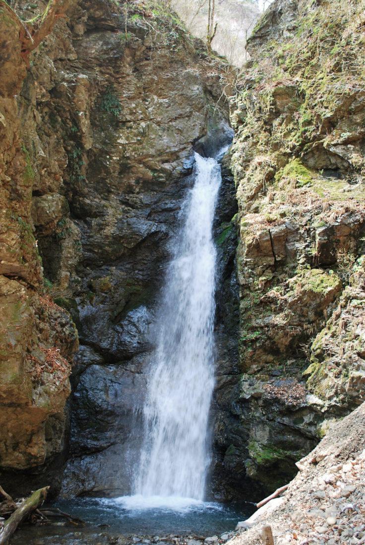 オボロカヤの滝