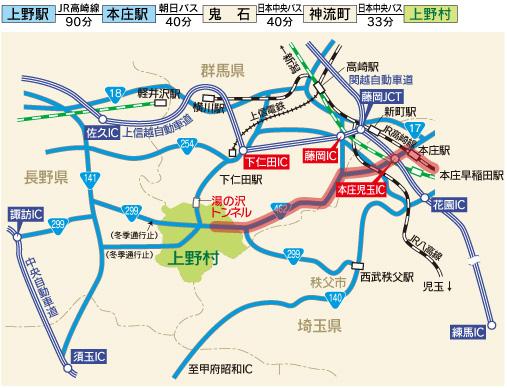 JR高崎線 本庄駅下車
