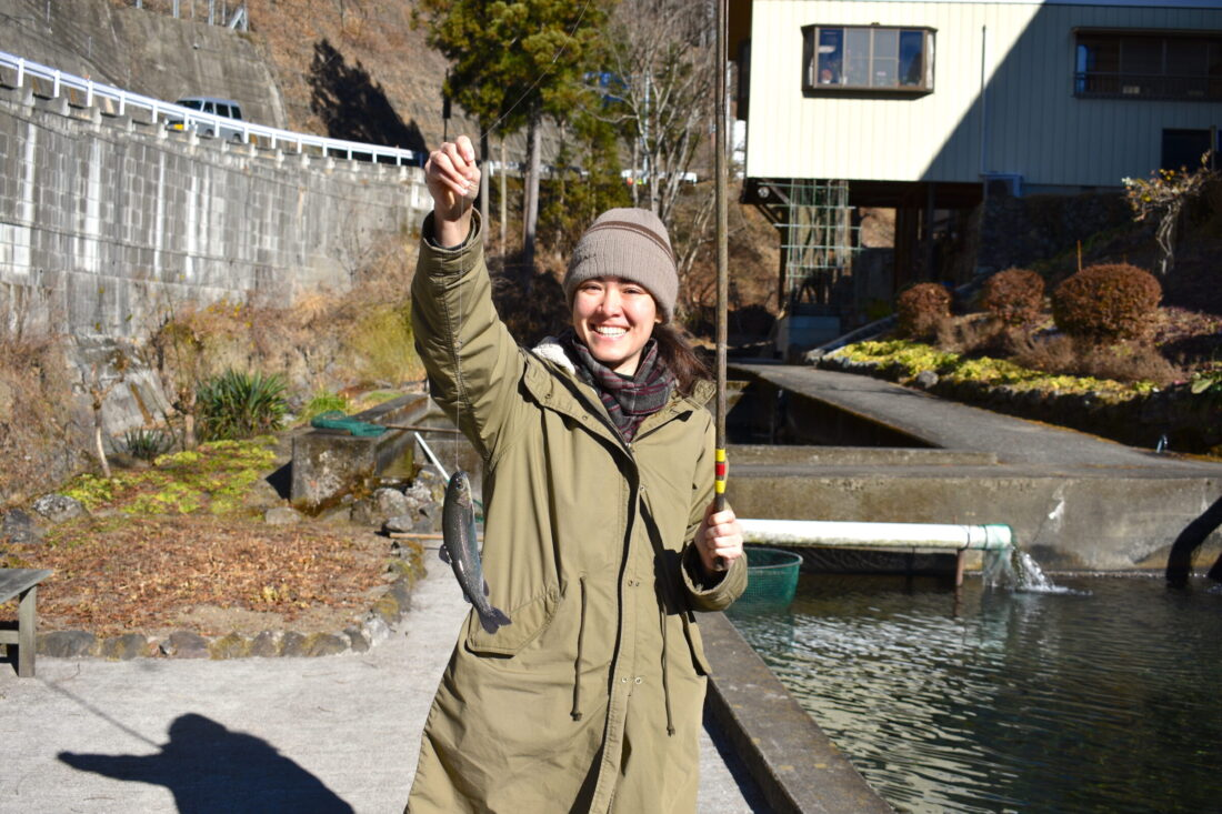 Fall Fun for the Whole Family in Ueno: Masuike Fishing