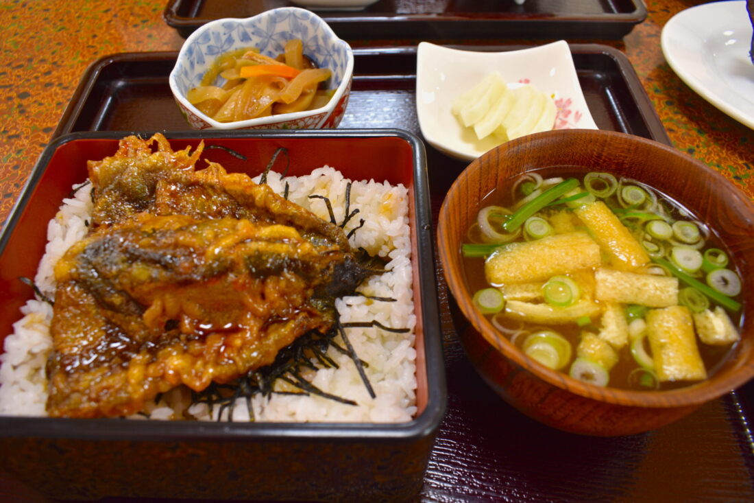 Fall Fun for the Whole Family in Ueno: Masuike Fishing Restaurant food