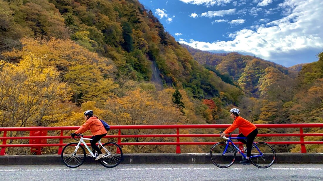 Fall Cycling Route in Uenomura